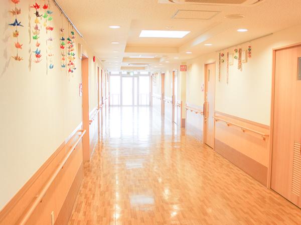 画像:廊下