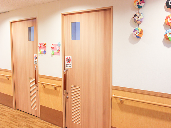 画像:病室